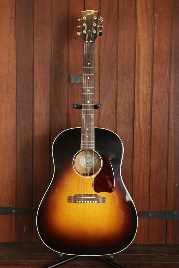 *NEW ARRIVAL* Gibson J-45 Standard Acoustic-Electric Guitar Vintage Sunburst - The Rock Inn