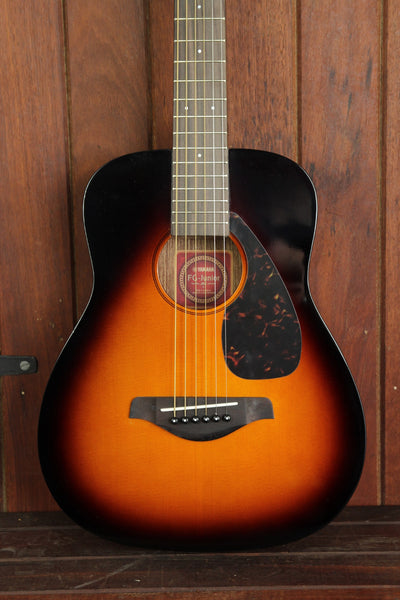 Yamaha JR2 Mini Steel String Acoustic Guitar Sunburst - The Rock Inn - 1