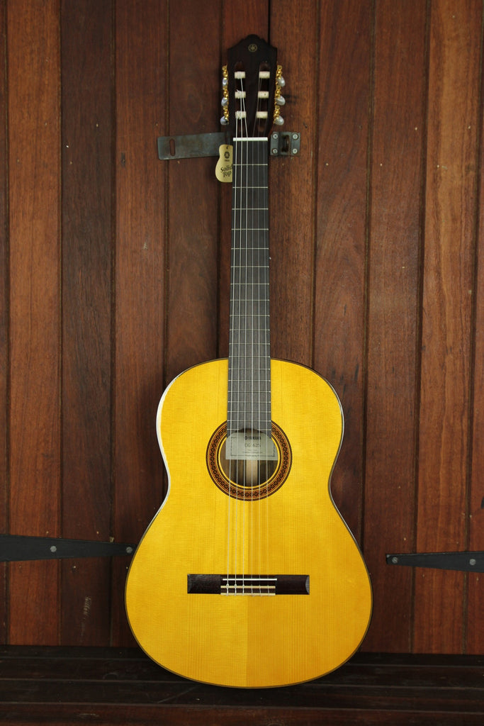 Yamaha CG162S Solid Top Nylon String Guitar - The Rock Inn - 3