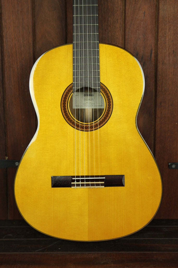 Yamaha CG162S Solid Top Nylon String Guitar - The Rock Inn - 1