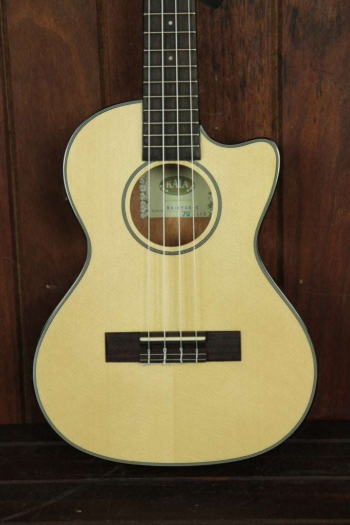 Kala KA-STGE-C Tenor Cutaway Ukulele - The Rock Inn - 1