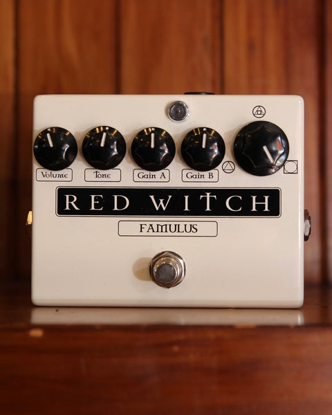 Red Witch Famulus Distortion Pedal Pre-Owned