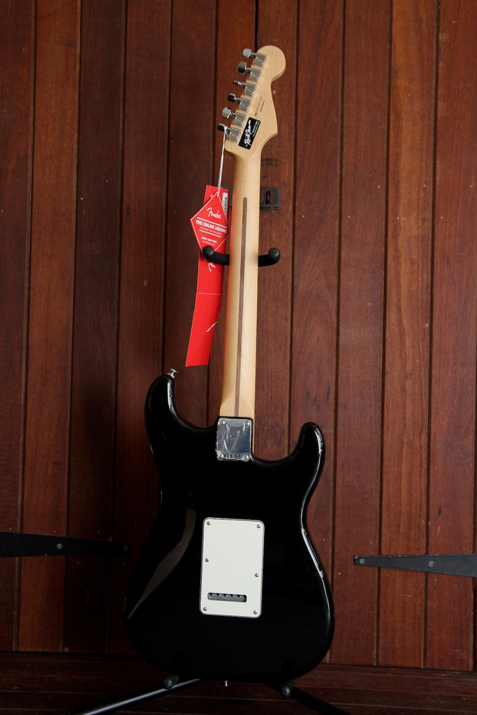 Fender Player Series Stratocaster Black Left Handed Guitar