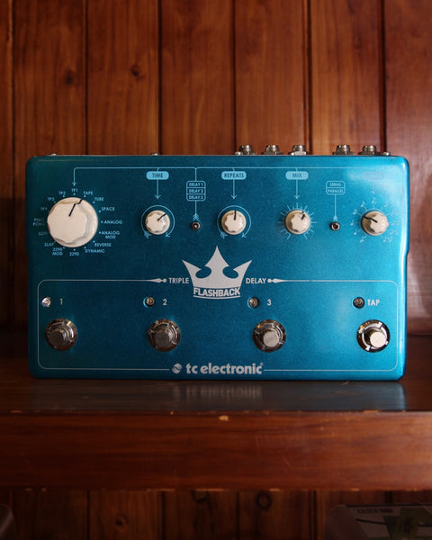 TC Electronic Flashback Triple Delay Pedal Pre-Owned