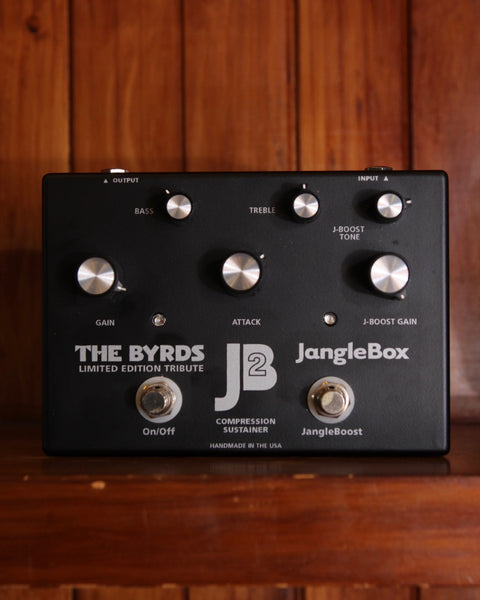 JangleBox JB2 Compressor Limited Edition Byrds Tribute Pedal Pre-Owned