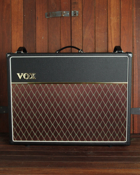 Vox AC30C2X 30W 2x12 Valve Combo Amplifier Alnico Blue Speakers - The Rock Inn - 1