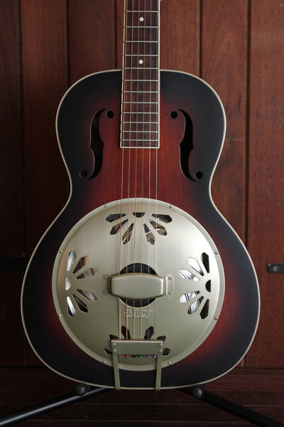 Gretsch G9220 Bobtail Deluxe Round Neck Resonator Acoustic-Electric Pre-Owned