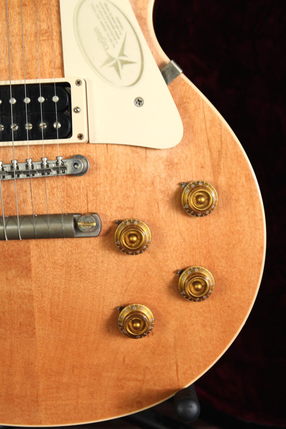 *NEW ARRIVAL* Gibson Custom Marc Bolan VOS Les Paul Pre-Owned - The Rock Inn