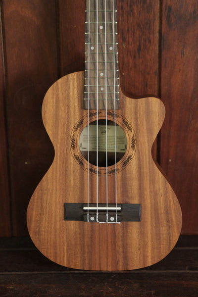 Tanglewood Tenor Ukulele Koa Acoustic-Electric TUKOAET - The Rock Inn