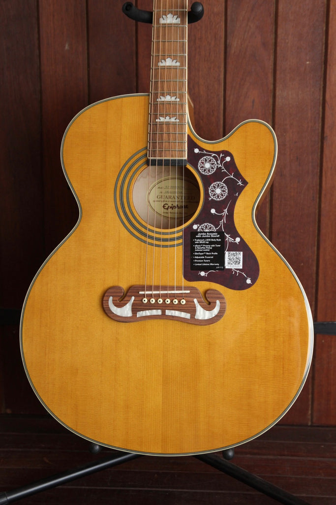 Epiphone EJ-200CE Jumbo Acoustic-Electric Vintage Natural