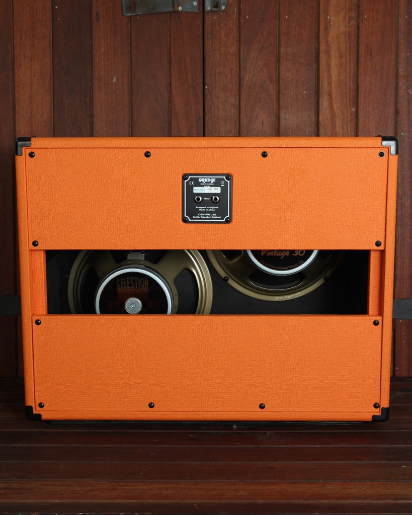 Orange Speaker Cabinet - PPC212OB 2x12 Open Back - The Rock Inn