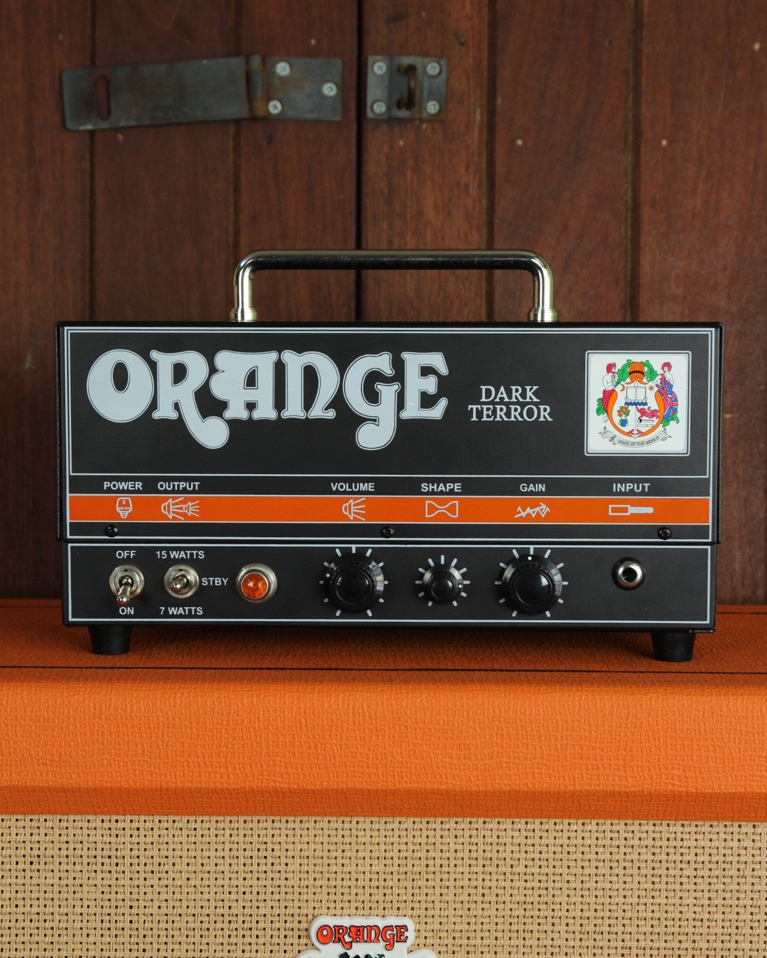 Orange DA15H Dark Terror 15W Tube Guitar Amp Head - The Rock Inn - 1