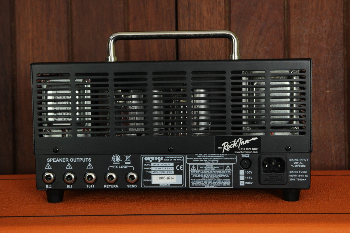 Orange DA15H Dark Terror 15W Tube Guitar Amp Head