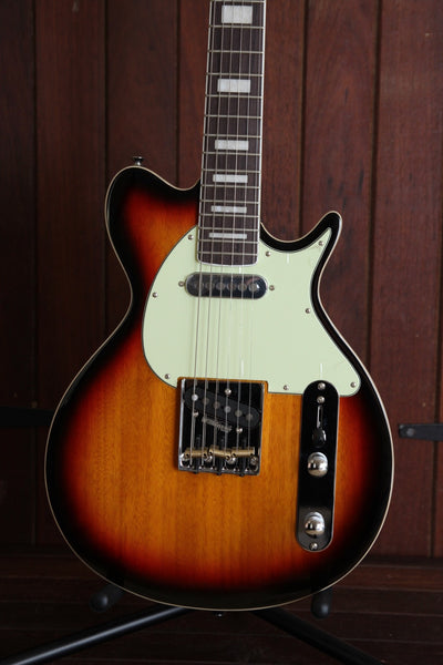 Revelation TTX-DLX Solidbody Electric Guitar Sunburst