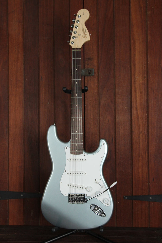 Squier Affinity Stratocaster Electric Guitar Slick Silver - The Rock Inn