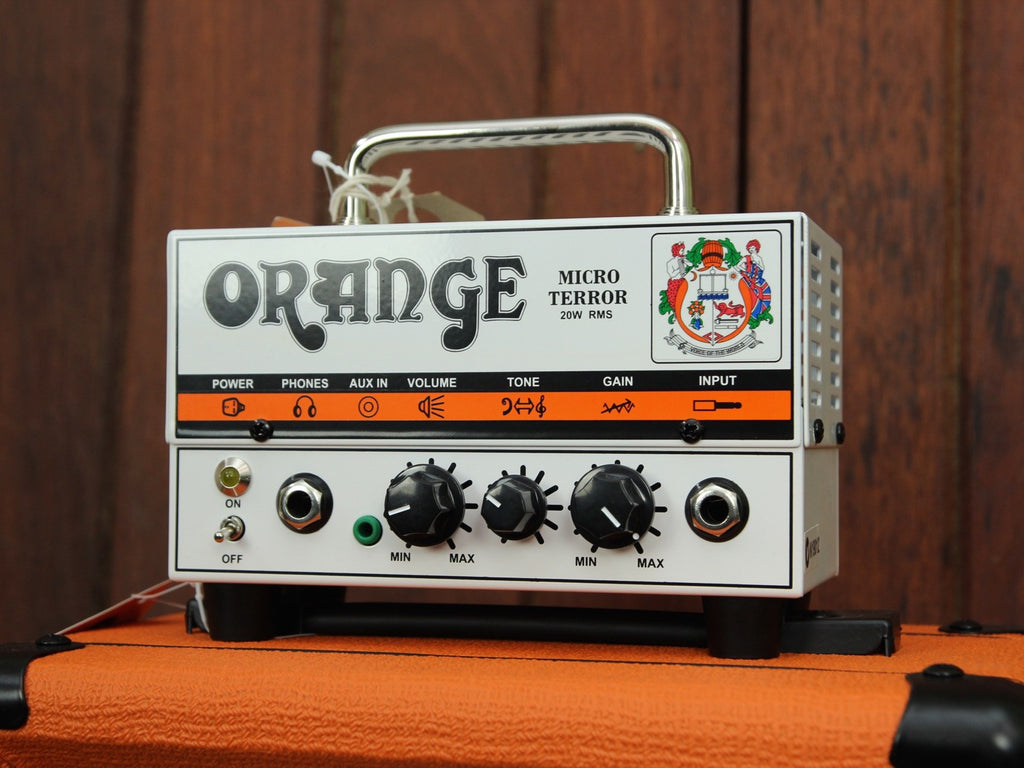 Orange Micro Terror MT20 20W Hybrid Guitar Amp Head - The Rock Inn - 3
