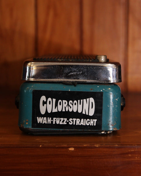 Colorsound Wah-Fuzz-Straight Pedal Vintage 70's Pre-Owned