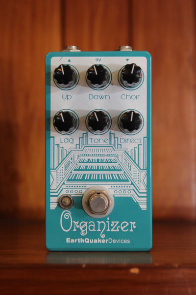 Earthquaker Devices Organizer – Polyphonic Organ Emulator Pre-Owned