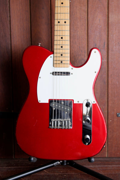 Fender Telecaster MIJ Maple Neck Crimson Pre-Owned