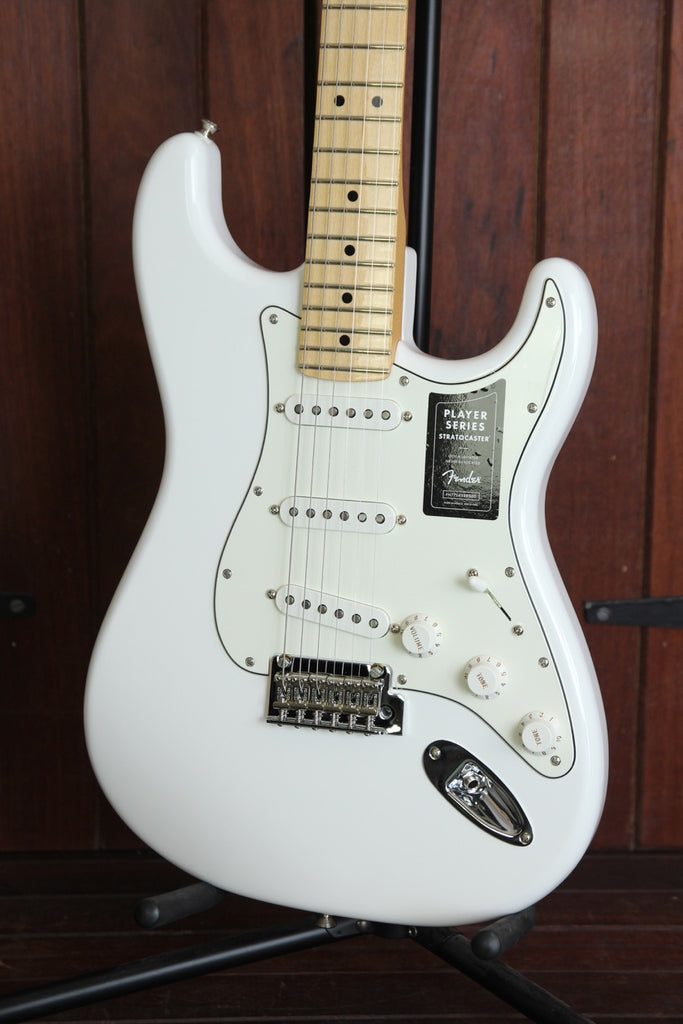 Fender Player Series Stratocaster Polar White Maple