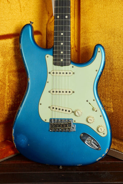 Fender Custom Shop 1961 Stratocaster Relic Aged Lake Placid Blue - The Rock Inn - 1