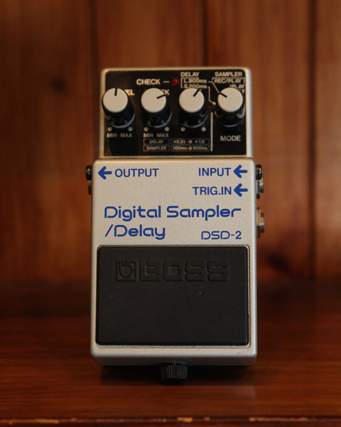 *NEW ARRIVAL* Boss DSD-2 Digital Sampler/Delay Pedal Pre-Owned - The Rock Inn
