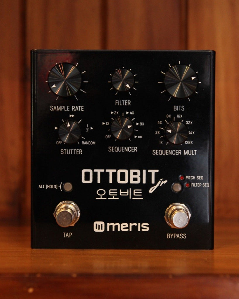 Meris Ottobit Jr Stutter Filter Bit Crusher Pedal