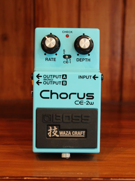 Boss CE-2W Chorus Pedal Waza Craft - The Rock Inn - 1