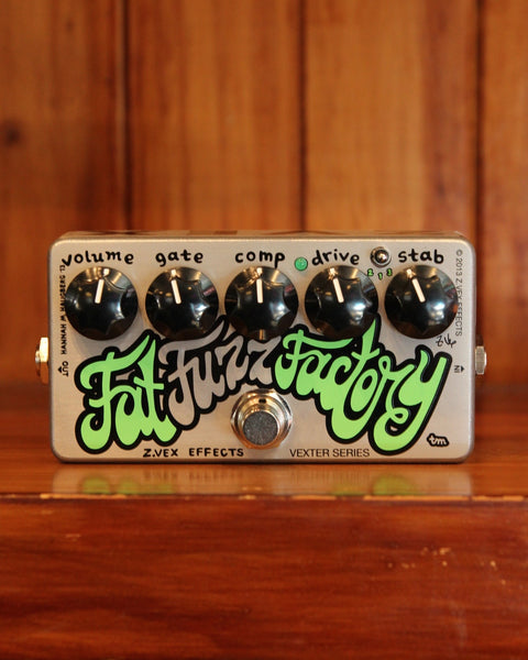ZVEX Vexter FAT Fuzz Factory Pedal - The Rock Inn