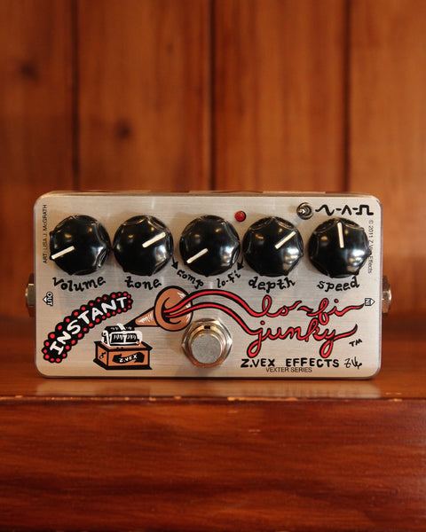 ZVEX Vexter Instant Lo-Fi Junky Pedal - The Rock Inn