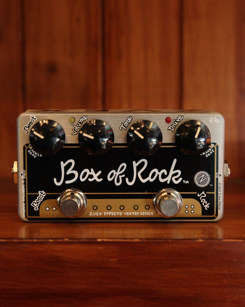 ZVEX Vexter Box Of Rock Distortion Pedal - The Rock Inn