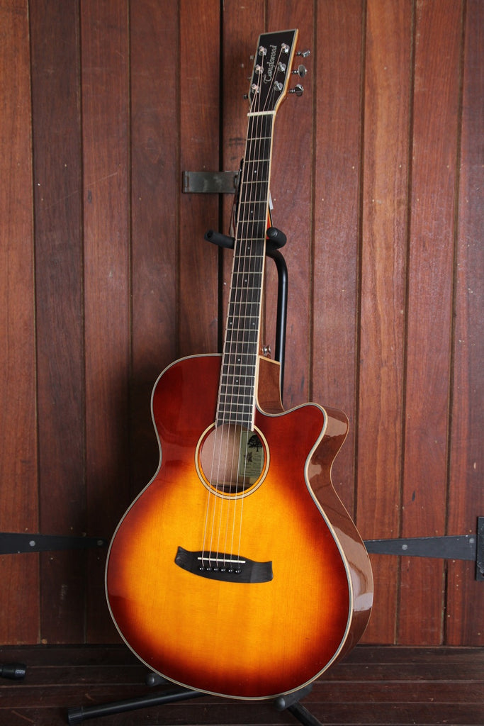 Tanglewood TW4 SB Winterleaf Superfolk Acoustic-Electric Guitar