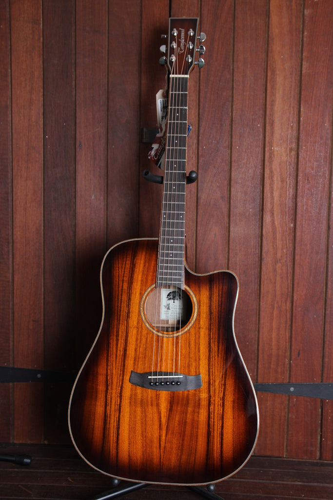 Tanglewood TW5 Koa Winterleaf Dreadnought Acoustic-Electric Guitar