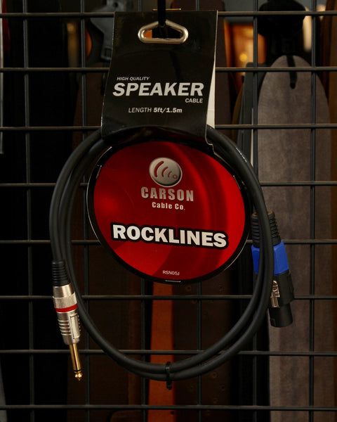Carson Speakon-1/4 Speaker Cable 5ft RSN05J - The Rock Inn