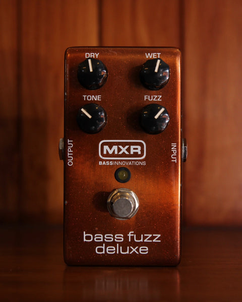 MXR Bass Fuzz Deluxe Effects Pedal Pre-Owned