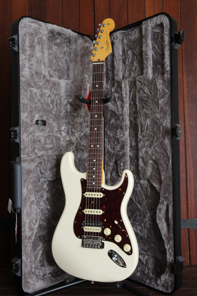 Fender American Professional II HSS Stratocaster Olympic White Rosewood