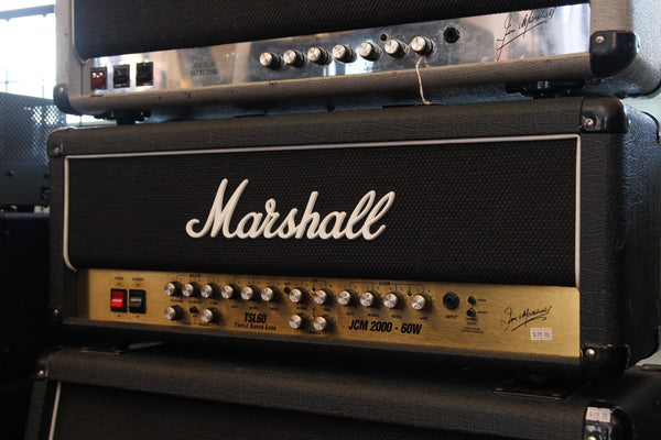 Marshall TSL60 UK Made 60w Valve Head