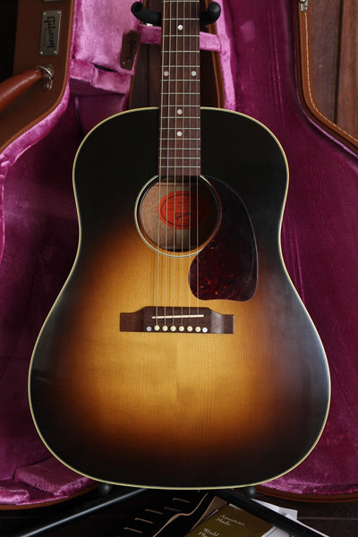 Gibson Custom J-45 True Vintage Red Spruce Acoustic Guitar Pre-Owned