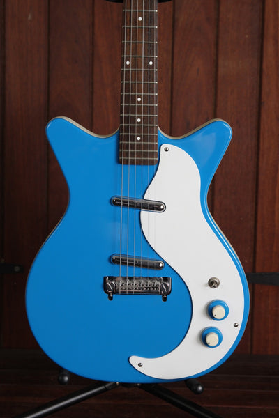 Danelectro '59 Modified NOS Double Cut Blue Pre-Owned