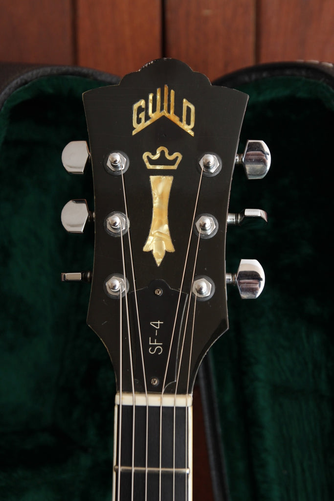 Guild Starfire IV SF-4 Vintage 1980 Semi-Hollowbody Guitar