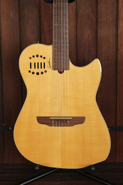*NEW ARRIVAL* Godin Multiac Nylon Duet Crossover Guitar Pre-Owned - The Rock Inn
