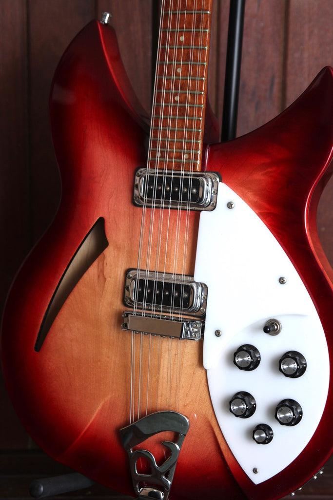 Rickenbacker 330/12 12-string Fireglo Guitar 1998 Pre-Owned