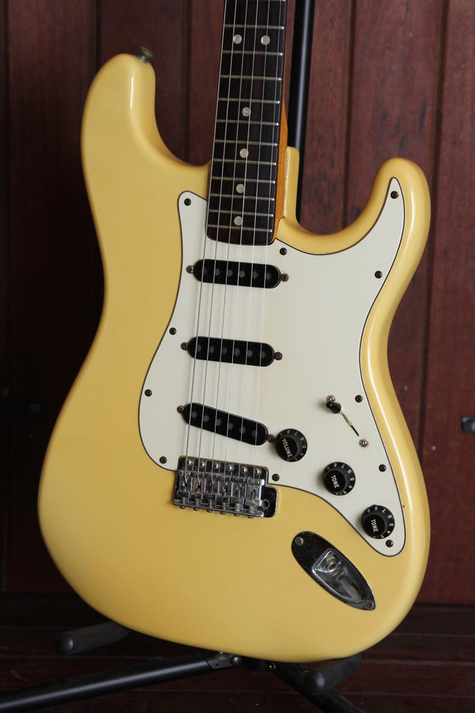 Fender 1979 'International Series' Stratocaster Vintage Olympic White Electric Guitar