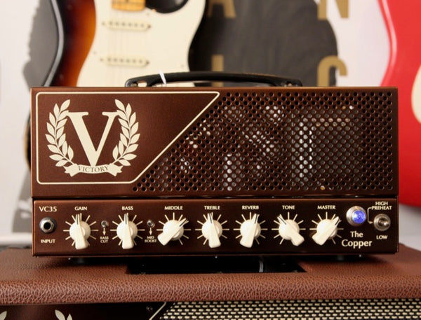 Victory Amplification VC35 The Copper Amplifier Head