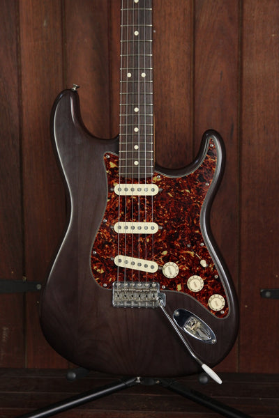 *NEW ARRIVAL* Fender USA Highway One Stratocaster Brown Pre-Owned - The Rock Inn