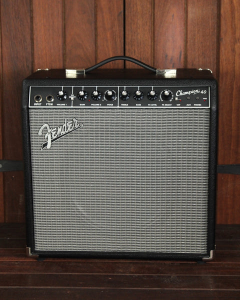 Fender Champion 40 Solid-State Guitar Combo Amplifier