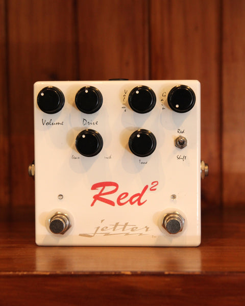 Jetter Red Square Twin Channel Overdrive Pedal Pre-Owned