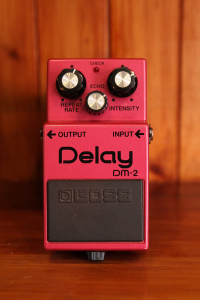 *NEW ARRIVAL* Boss DM-2 Delay Pedal Vintage 1982 - The Rock Inn