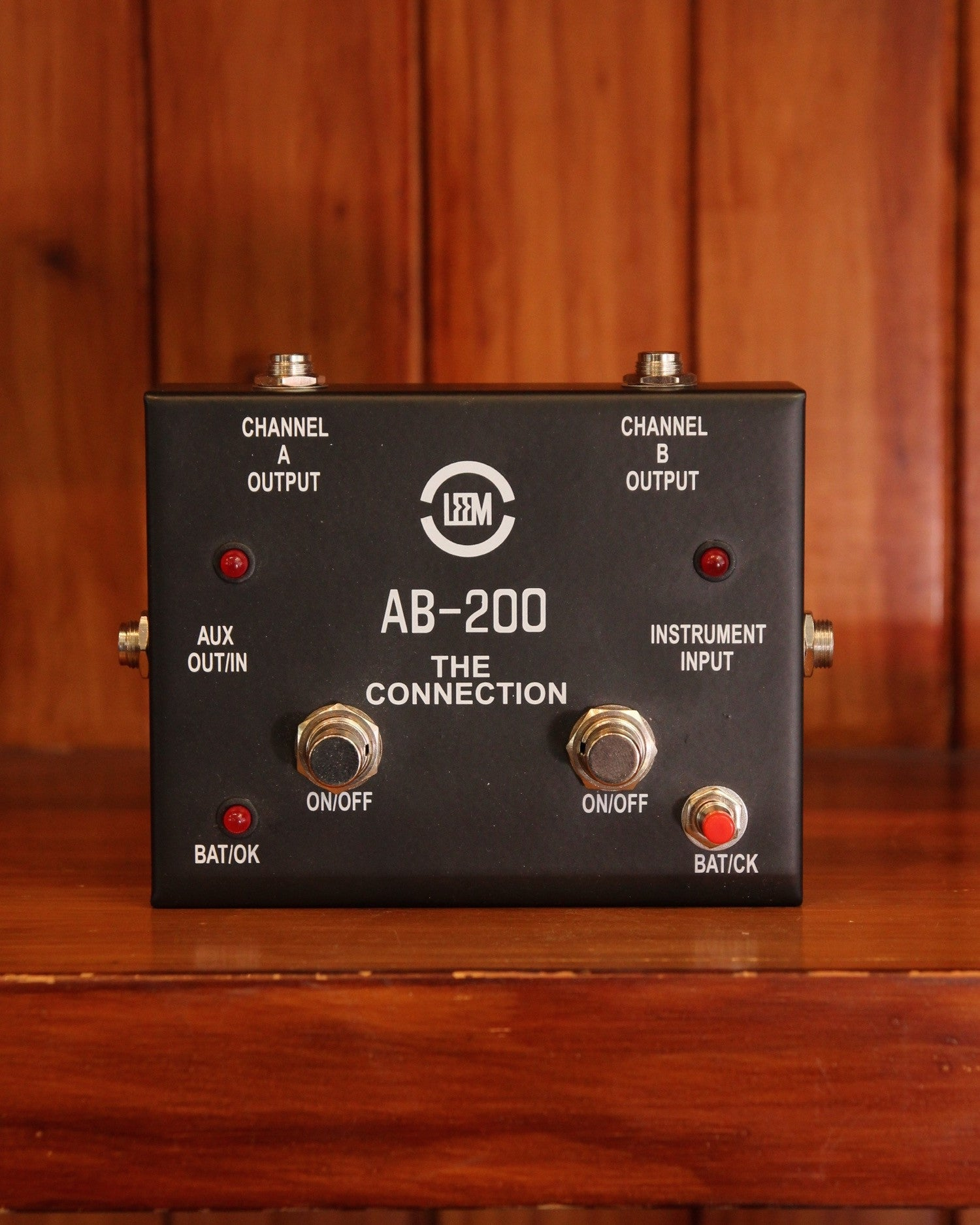 Leem AB-200 ABY Footswitch Pedal - The Rock Inn