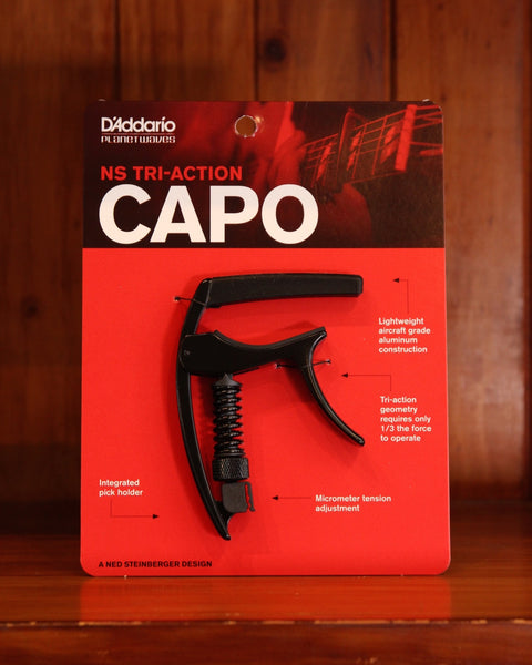 D'Addario Planet Waves NS Tri-Action Capo - The Rock Inn